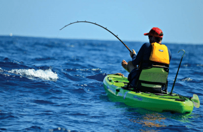 Kayak Shark Fishing