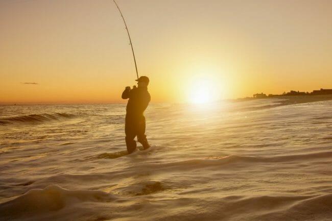 Surf Fishing for Spanish Mackerel