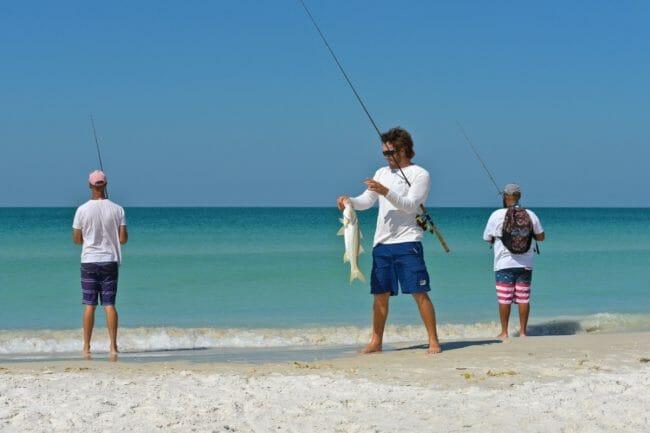 Light Tackle Surf Fishing