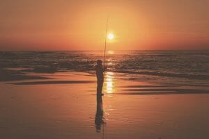 Surf Fishing for Redfish