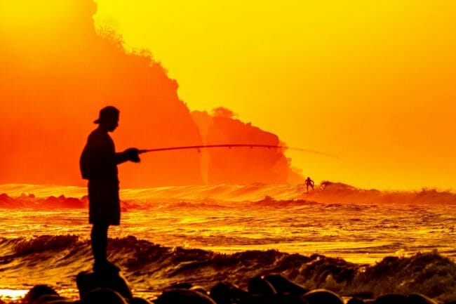 Where to Cast When Surf Fishing